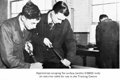 Apprentices, late 1950s