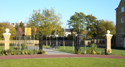 Relocated gates from the Ford Road premises